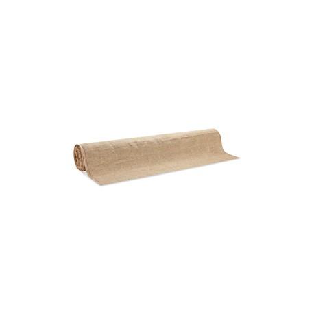 Rollo completo de yute biodegradable de 137 cms x 45 metros